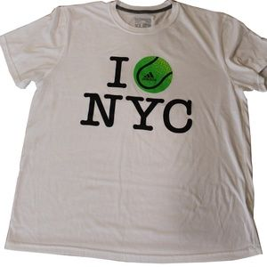 Adidas NYC Shirt - Size XL - White
